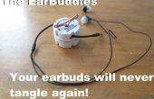 Los EarBuddies: tienda de audífonos sin enredos (con cosas que ya tienes!)