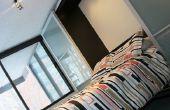 IKEA Hack - cama de Murphy con puertas correderas