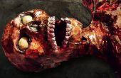 Cómo hacer un esqueleto y el cadáver de cero