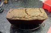 Deliciosa torta de avena y nueces