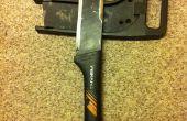 Convertir una herramienta/plataforma de supervivencia de una cuchilla de cepillo de Fiskars