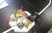 Línea Robot seguidor utilizando protector de cámara en 1Sheeld y Arduino