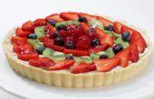 Cómo hacer una tarta de frutas - receta fácil
