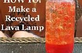 Cómo hacer reciclado lámpara de la Lava!