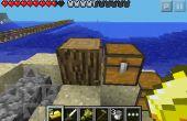 Cómo clonar bloques en minecraft pe!