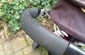 Se encarga de reparar la silla de paseo