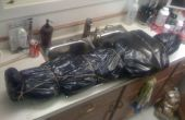Impresionante cadáver de halloween por menos de 3 dólares