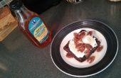 Saludable lino & Breakfast de galleta de huevo