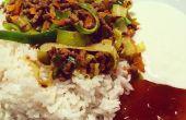 Plato de Curry saludable de la madre, 18 Min