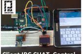 ESP8266 + Arduino + Oled (cliente IRC Chat Control) parte 1