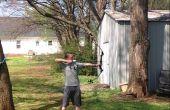 Cómo disparar un arco