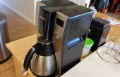 Hacer el mejor café con su máquina de goteo auto de Mr. Coffee