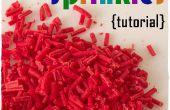 Cómo hacer tus propio Sprinkles en casa