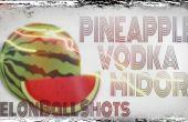 Cómo hacer melón bola tomas