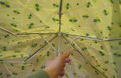 Cómo convertir un paraguas roto en un bolso ecológico reusuable