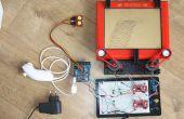 Telecran (Etch a Sketch) + Arduino = Telecranduino!