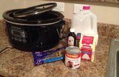 Lento cocina chocolate caliente
