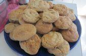 Mantequilla de maní Cookie perfección