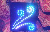 Bolso del partido LED direccionable
