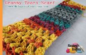 Abuelita lágrimas bufanda-patrones de ganchillo gratis