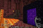 Cómo hacer el portal del nether minecraft PE