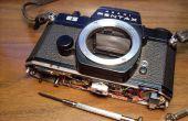 """Cómo arreglar un espejo cesado / """"atascado"""" en una Spotmatic de Pentax ES"""