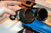 Modificar gafas de soldadura en un vapor inspirado look
