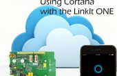Uso de Cortana para controlar su LinkIt uno!