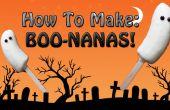 BOO Spooky-nanas! (Super fácil, sin cocinar)