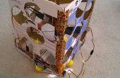 El giróscopo vuelo estabilizado VTOL de cartón