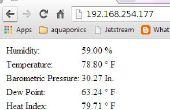 El servidor de Web Super sencillo tiempo de Arduino