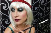 Aleta de maquillaje para Halloween
