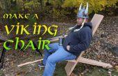 Hacer una silla de Viking con herramientas de mano!