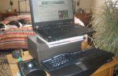 Configuración del ordenador portátil ergonómico