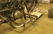 Carril de arena trike inverso de zongshen 150cc