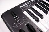Sintetizador de música analógico controlado por MIDI