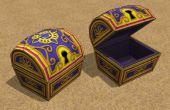 Papercraft videojuegos cofres