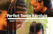 Cómo hacer el peinado perfecto para las niñas Tween