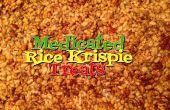 Medicada con arroz Krispies trata no GMO y libre de Gluten