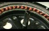 Actualizaciones de Ebike: Eje grueso alambre y Mods de enfriamiento Motor
