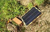 Montaje de un Kit de cargador de batería Solar BootstrapSolar Chi-qoo