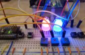 Color calibrar LEDs RGB con un Arduino