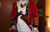 Máscara de soldado del hessian y accesorios