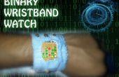 Reloj binario de pulsera