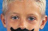Hacer un verdadero falso bigote