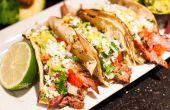 Tacos de Carne Asada y Guac