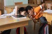 Las interrupciones en una clase. (Escuelas públicas)