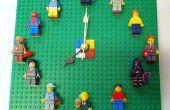 LEGO minifigura pantalla reloj