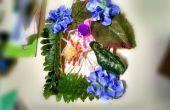 Primavera araña hábitat Craftivity