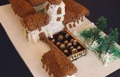 Construcción - misión Santa Cruz, Monte McKinley y piedra Cantera de la torta